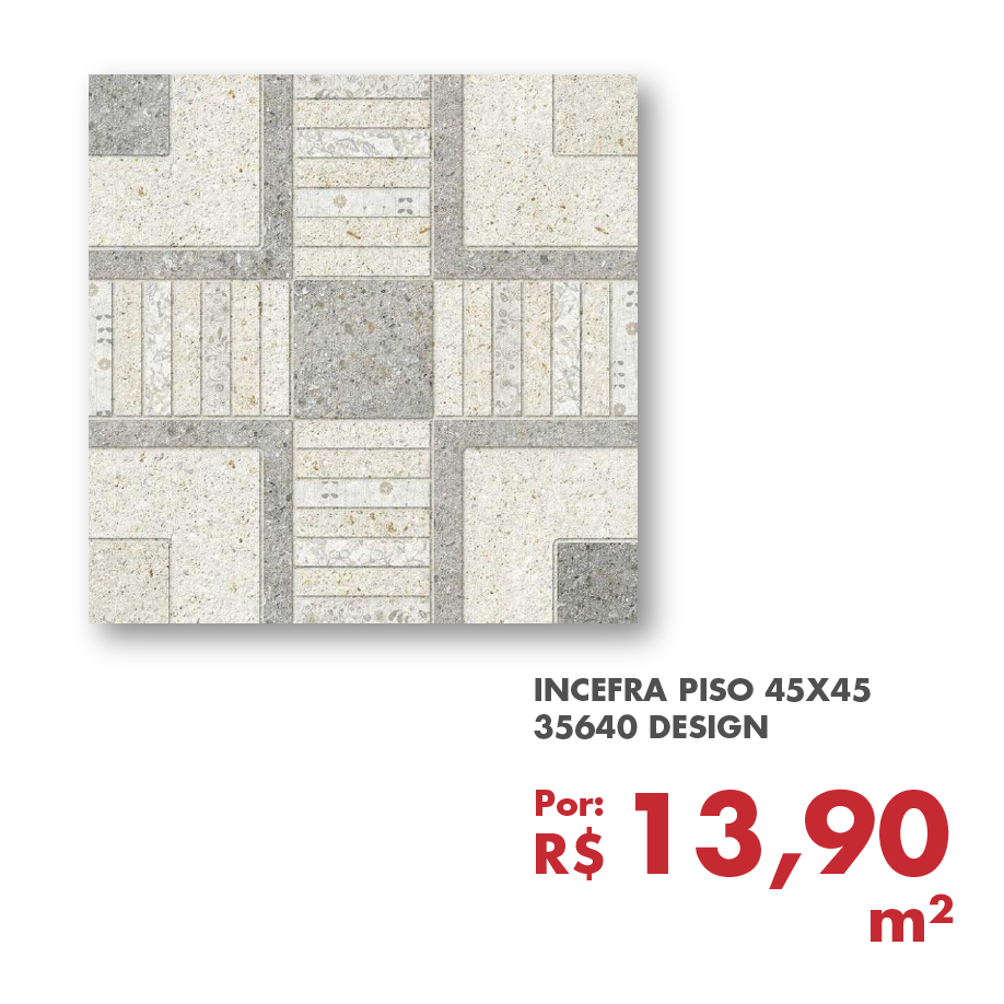 INCEFRA PISO 45X45 35640 DESIGN