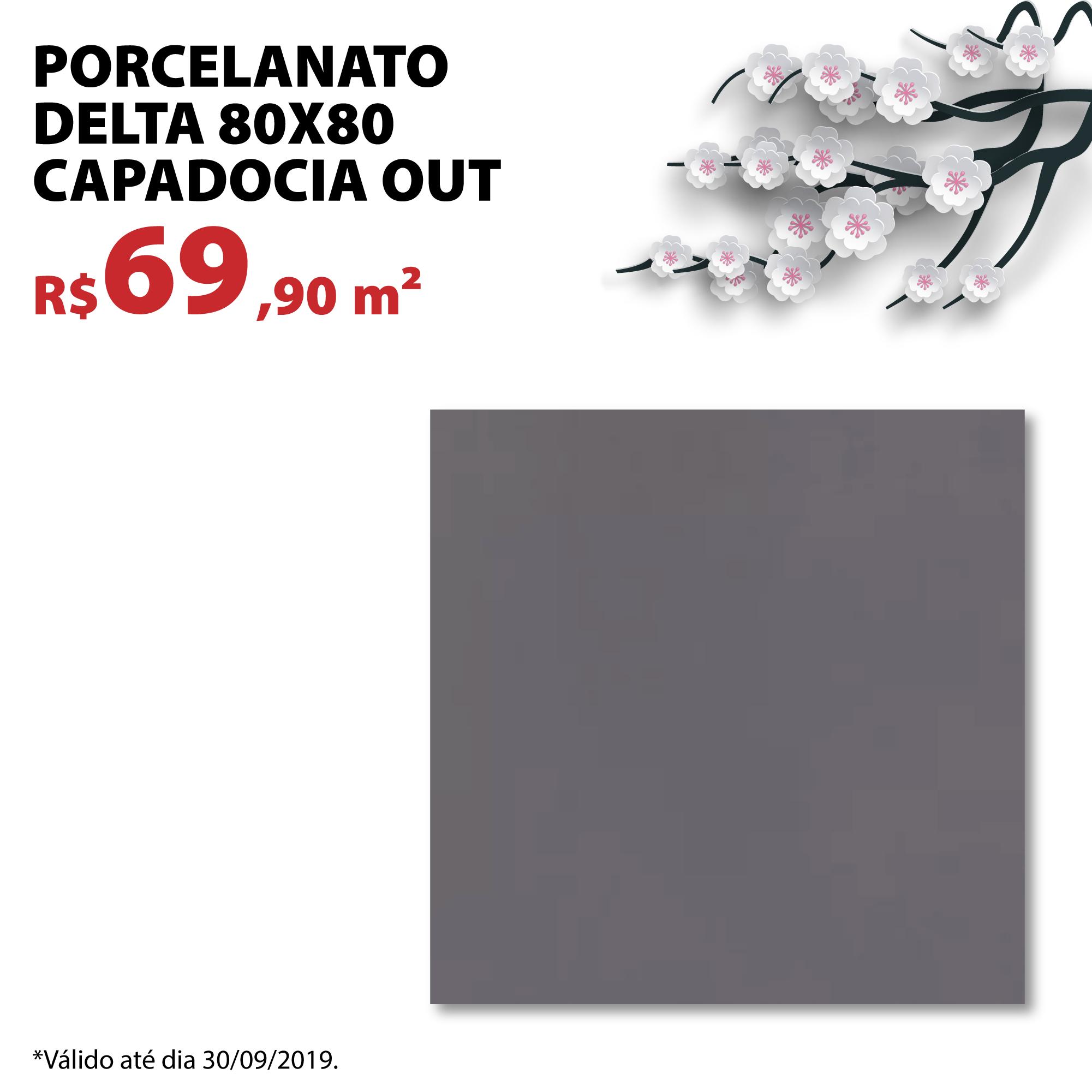 Porcelanato Delta 80×80 Capadocia out