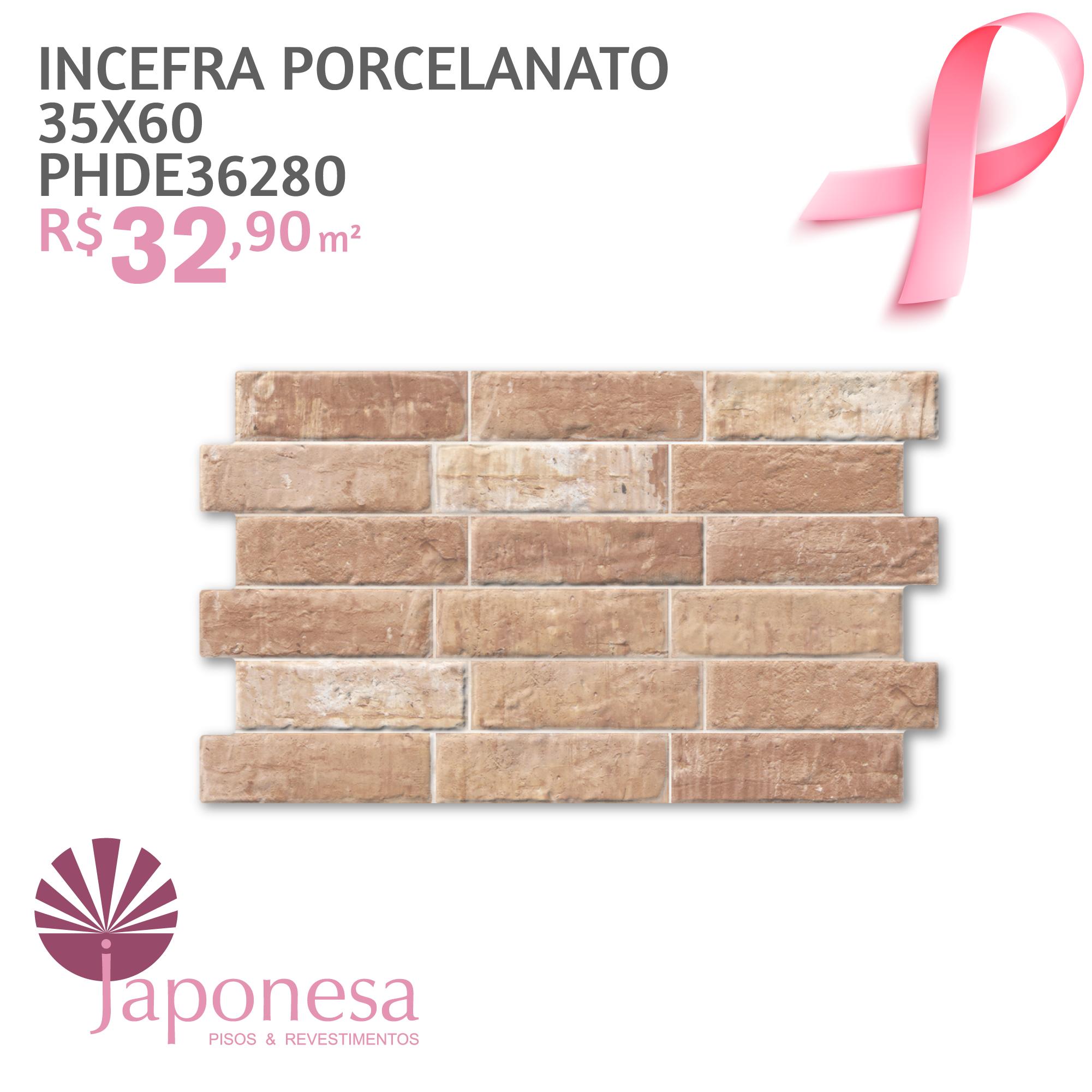 Incefra Porcelanato 35×60 PHDE36280
