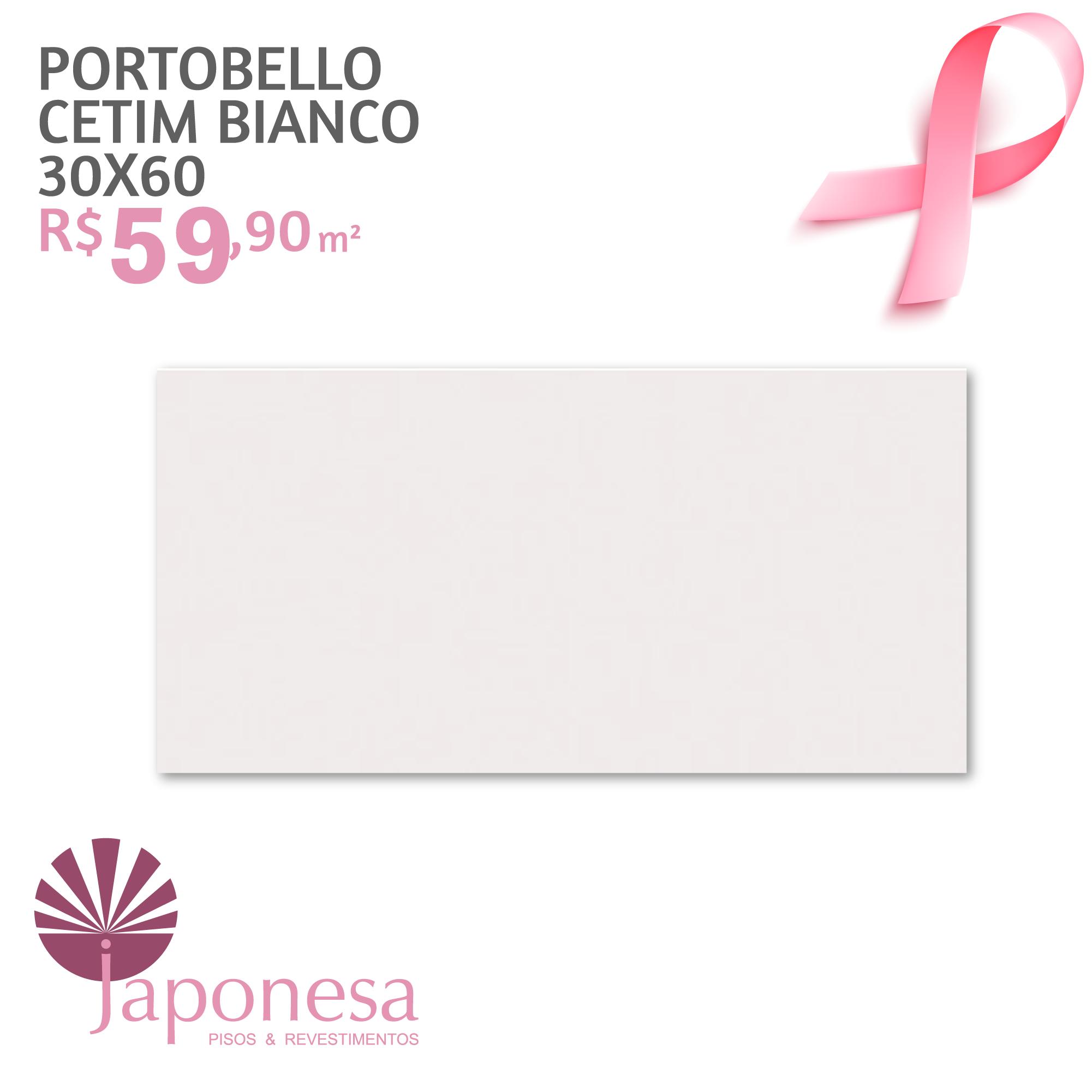 Portobello Cetim Bianco 30×60