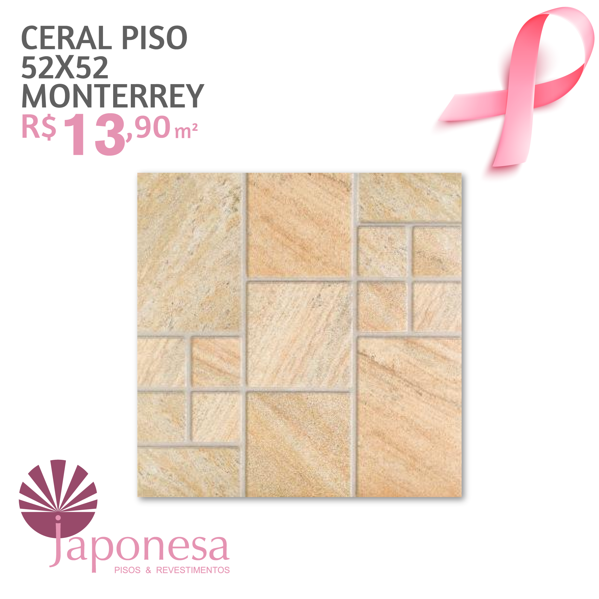 Ceral Piso 52×52 Monterrey