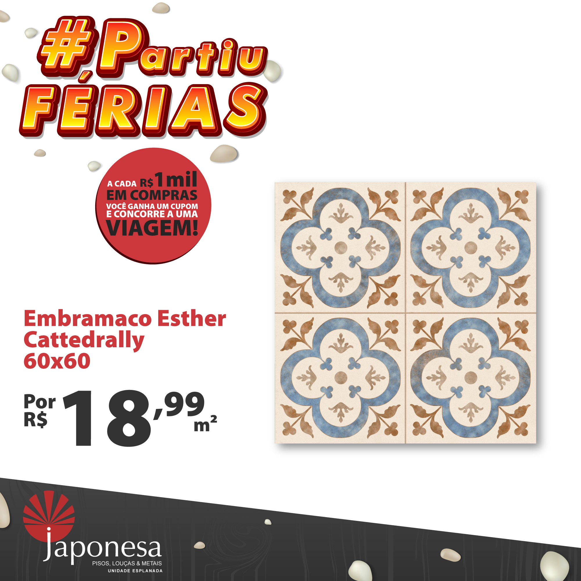 EMBRAMACO ESTHER CATTEDRALLY 60X60