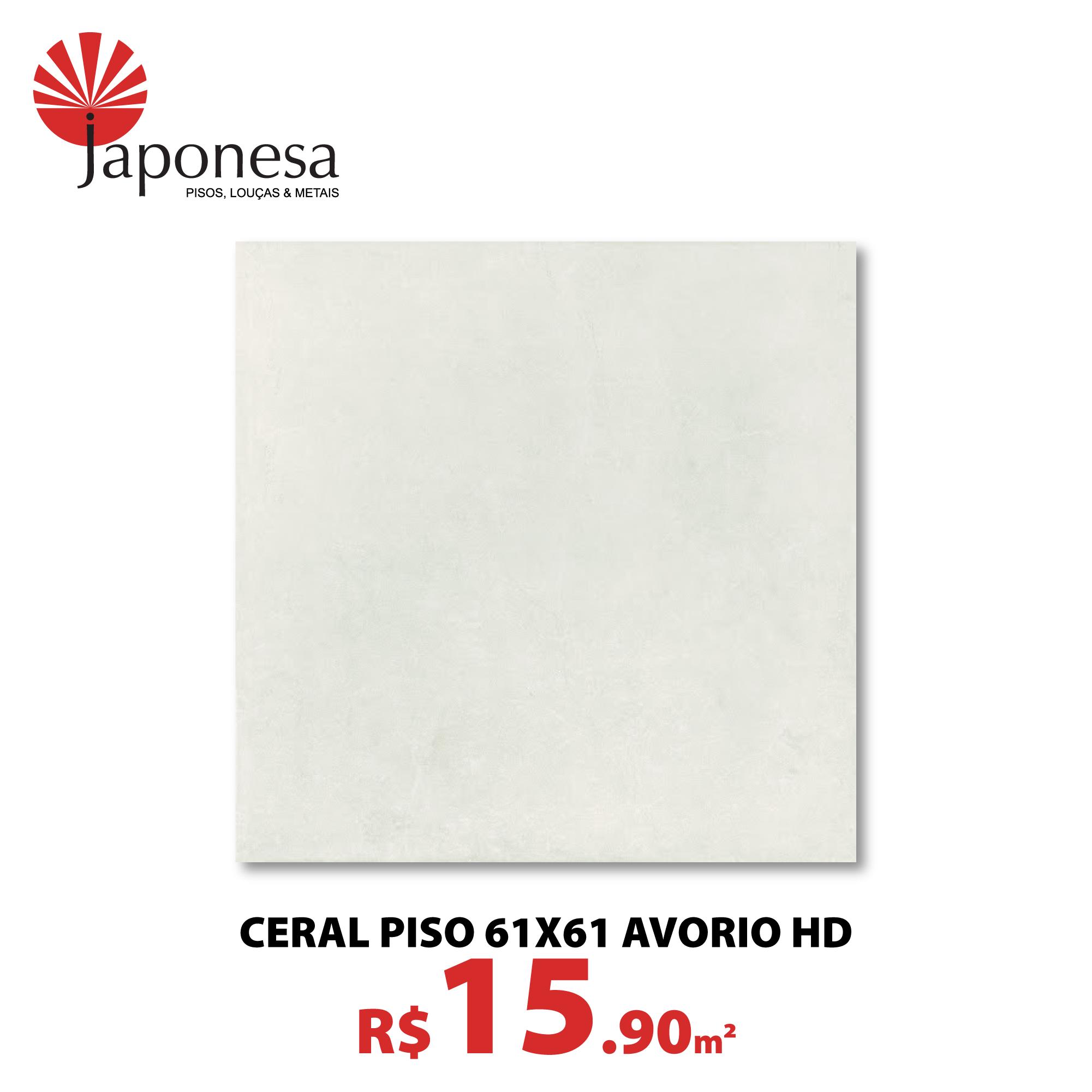 Ceral Piso 61×61 Avorio HD