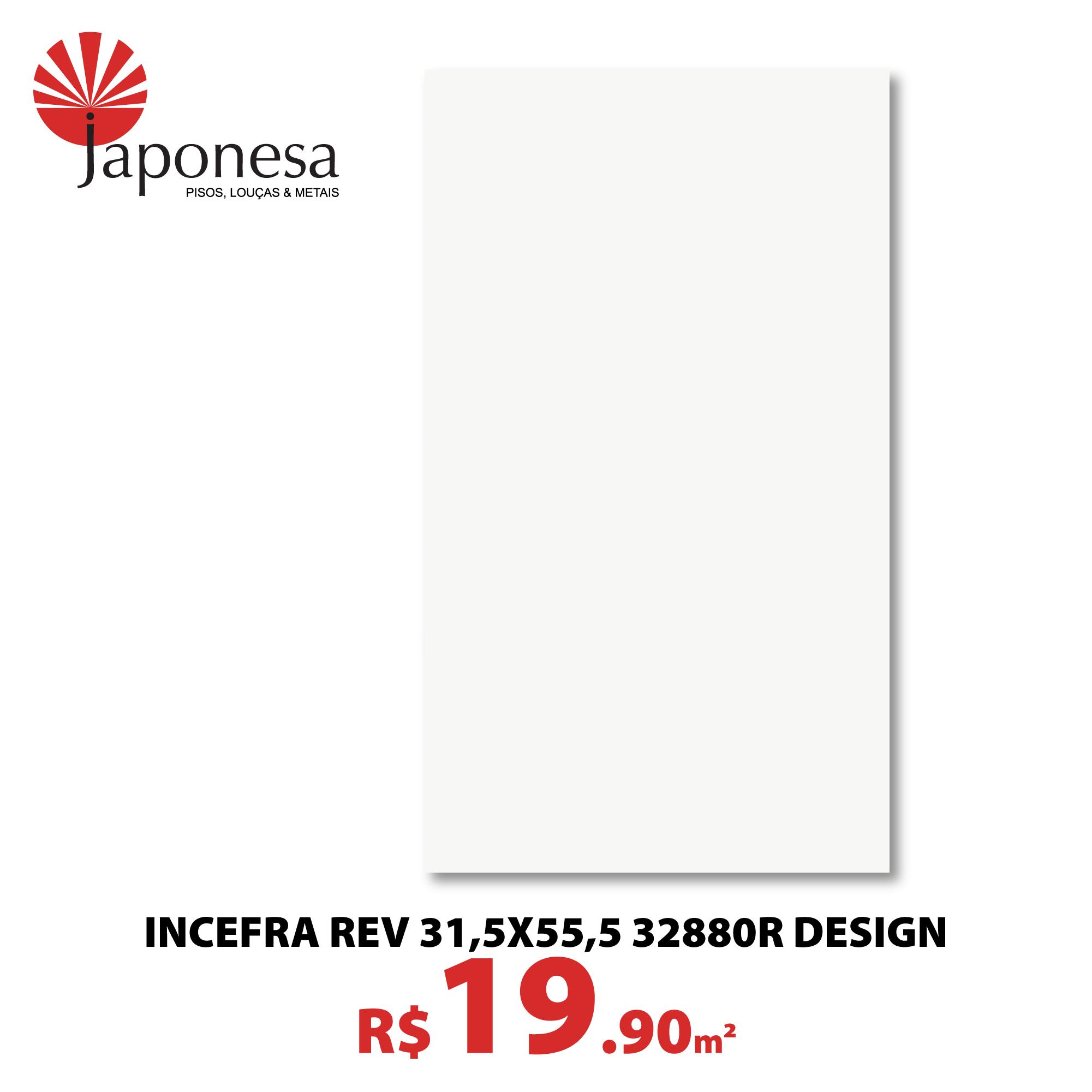 Incefra Rev 31,5×55,5 32880R Design
