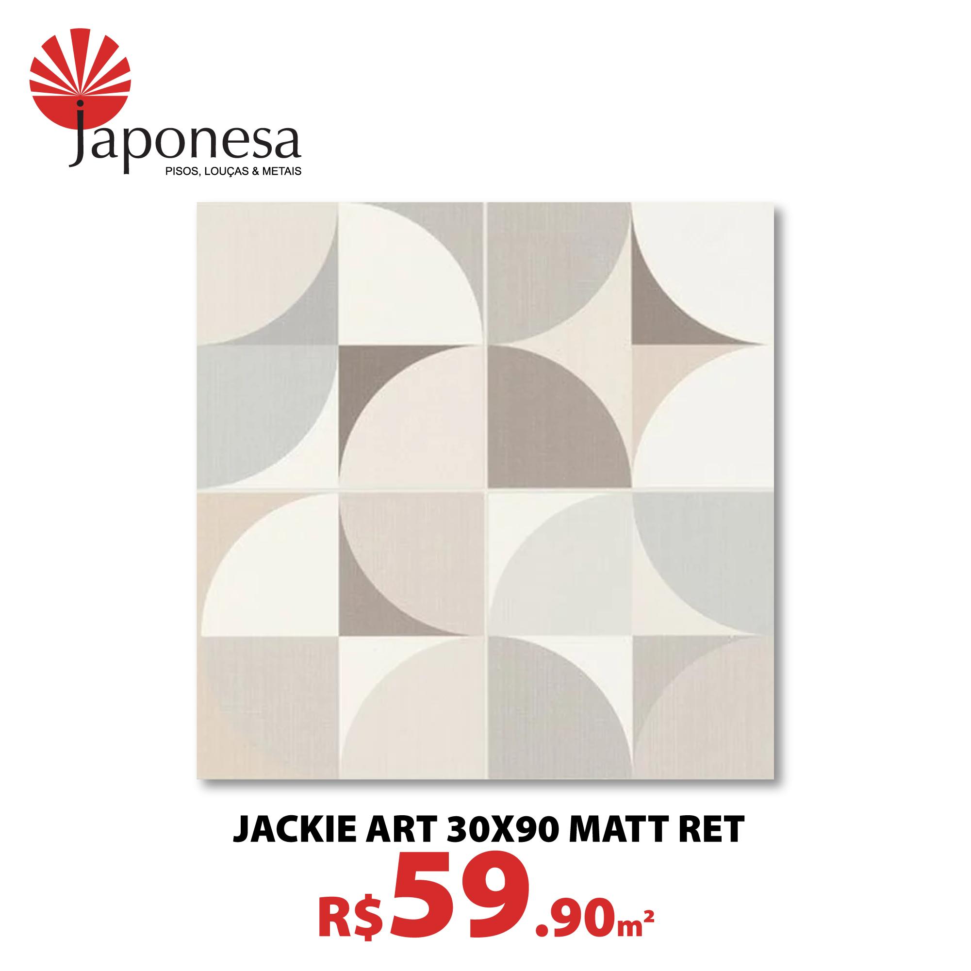 Jackie Art 30×90 Matt Ret