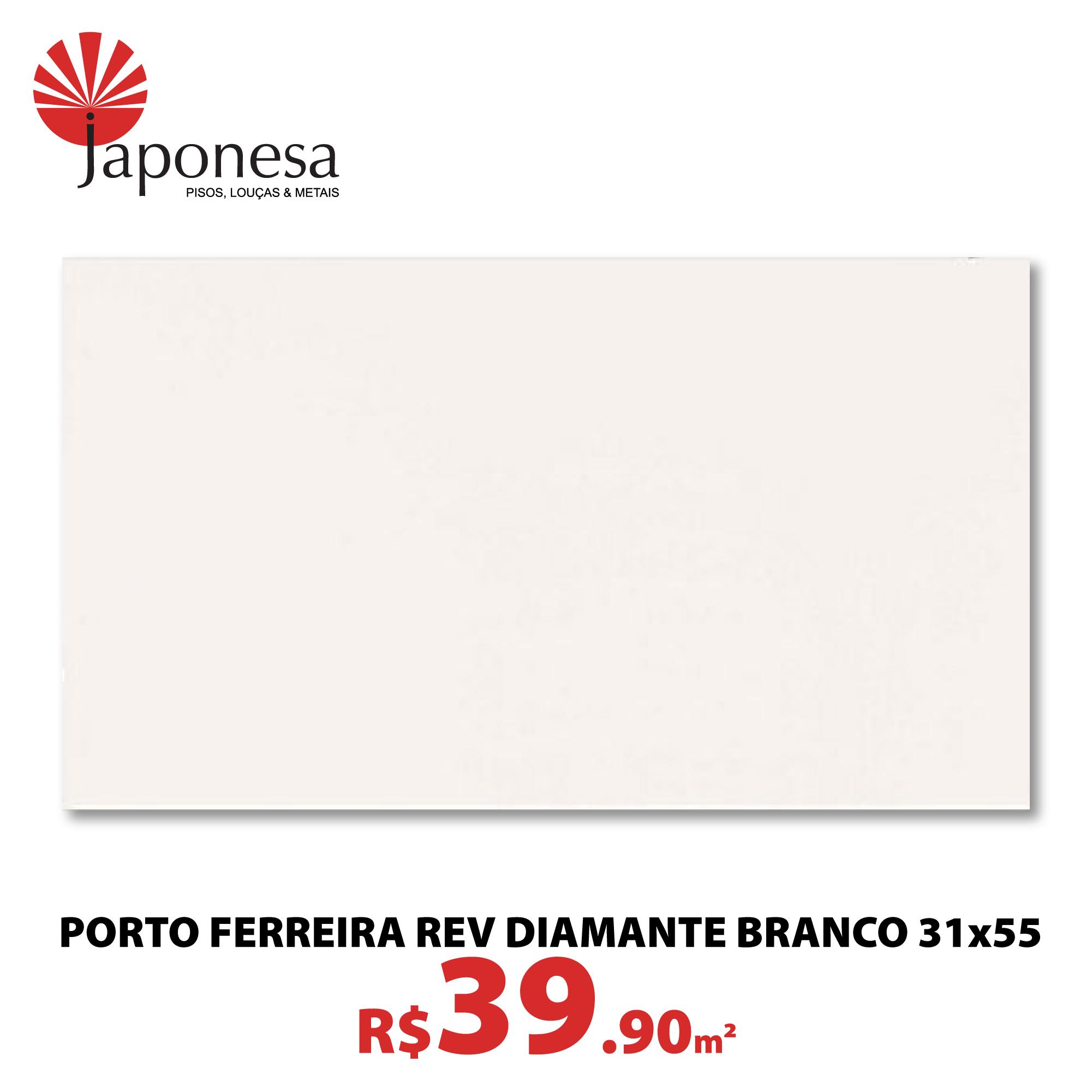 Porto Ferreira Rev Diamante Branco 31×55