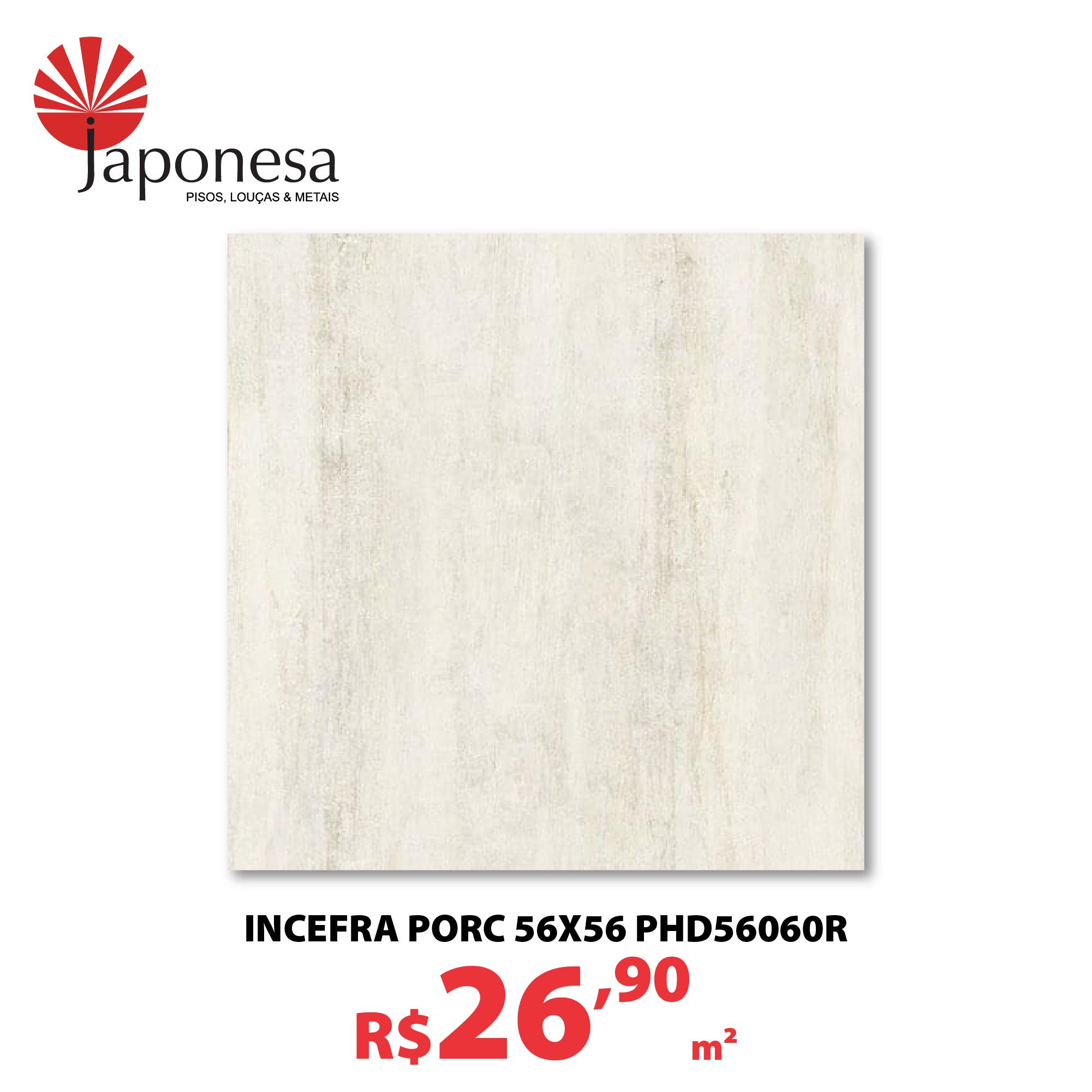 INCEFRA PORC 56X56 PHD56060R