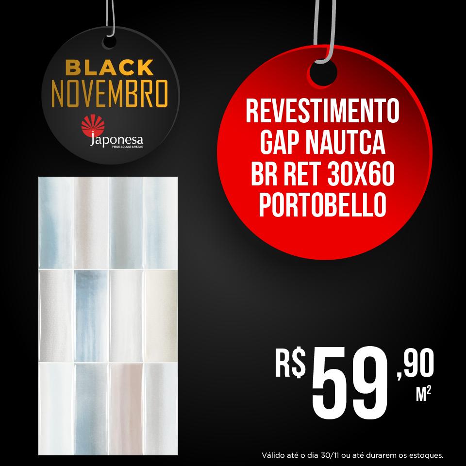 REVESTIMENTO GAP NAUTCA BR RET 30X60 PORTOBELLO