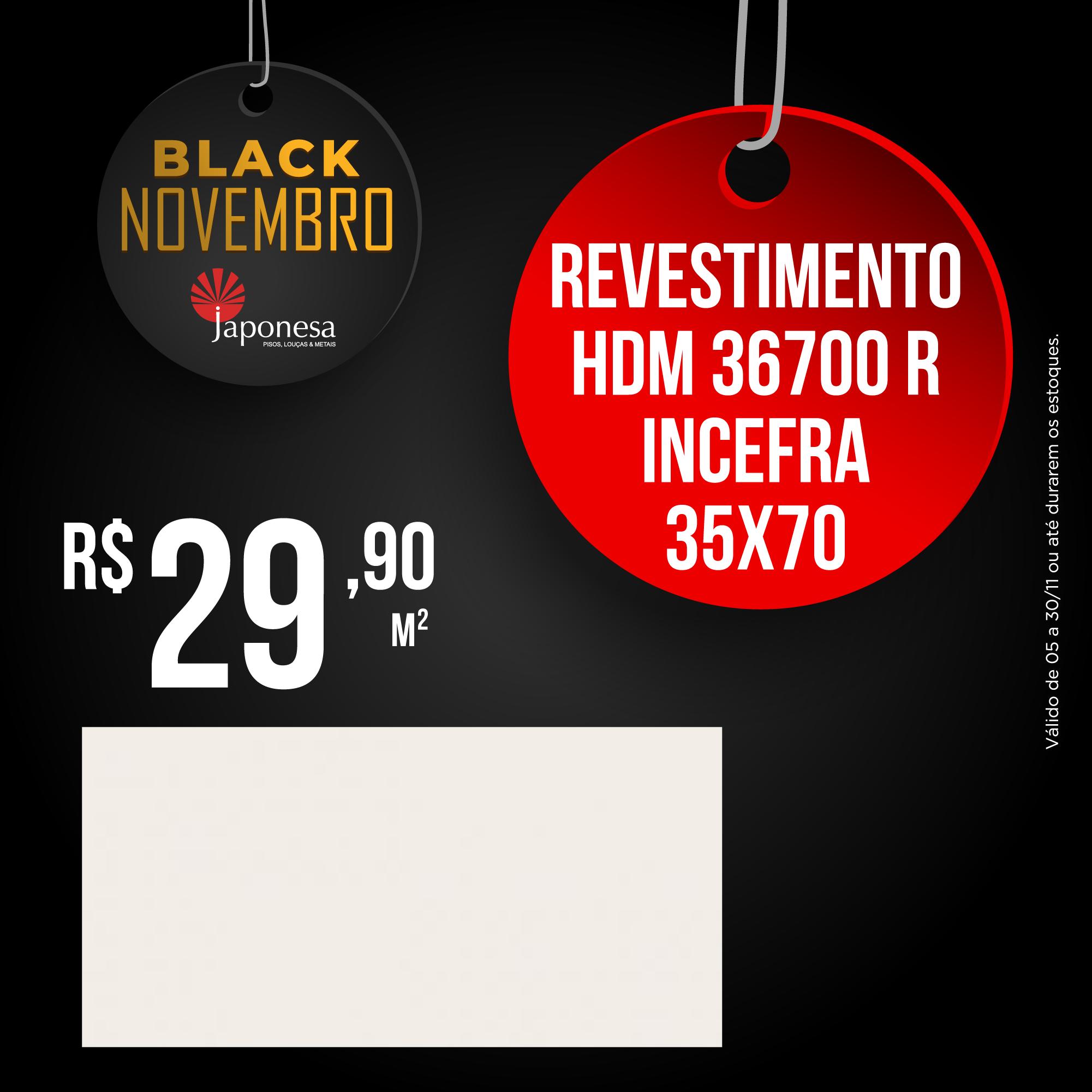 REVESTIMENTO HDM 36700 R INCEFRA 35X70