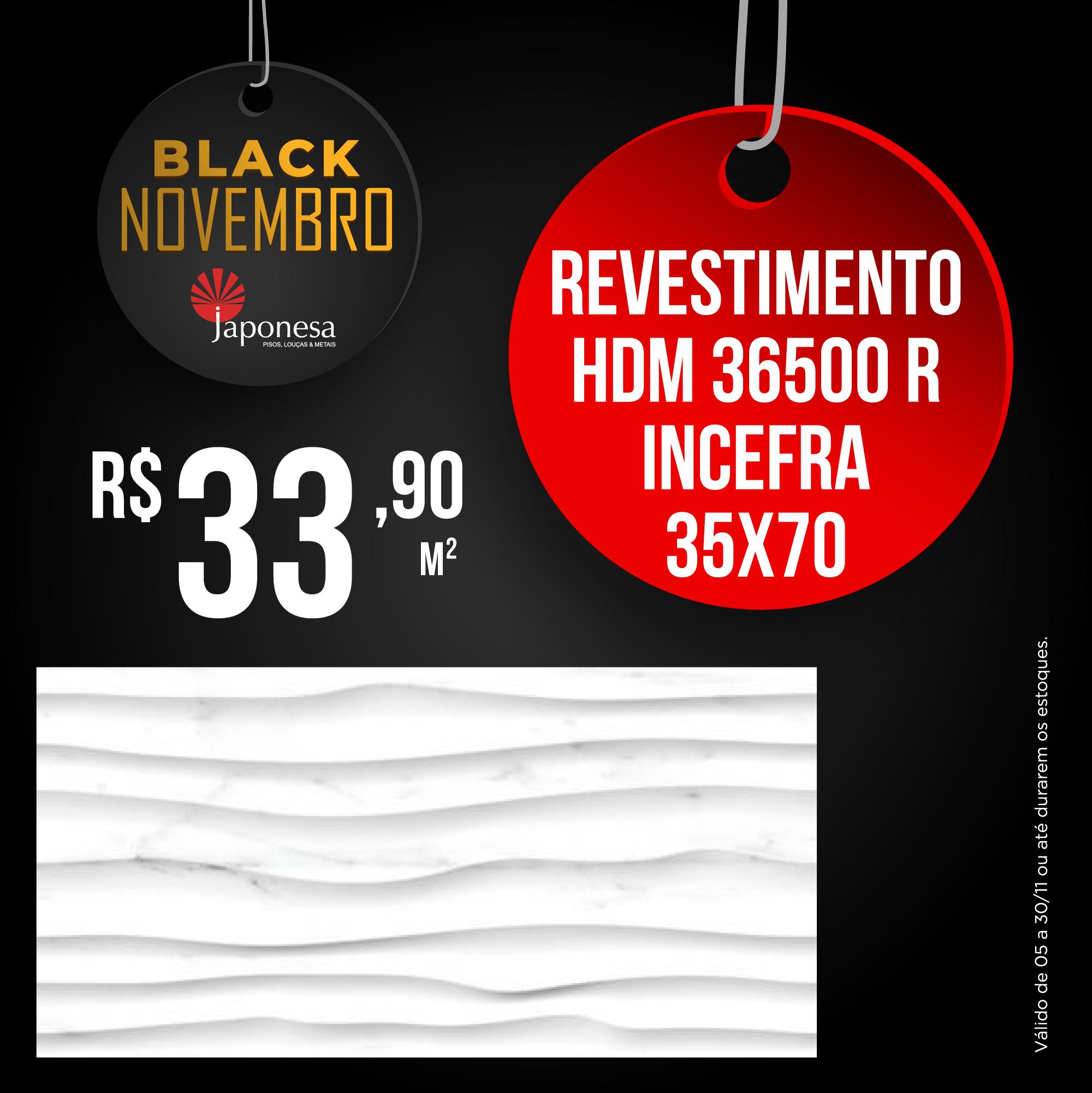 REVESTIMENTO HDM 36500 R INCEFRA 35X70