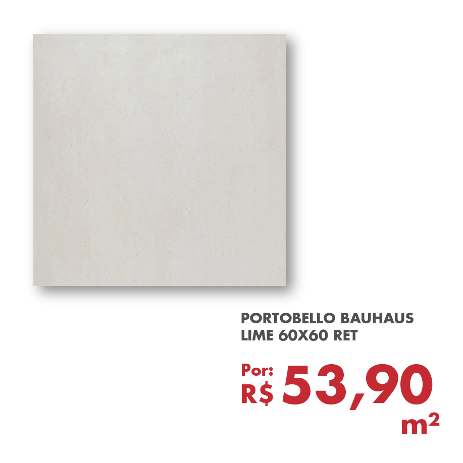PORTOBELLO BAUHAUS LIME 60X60 RET