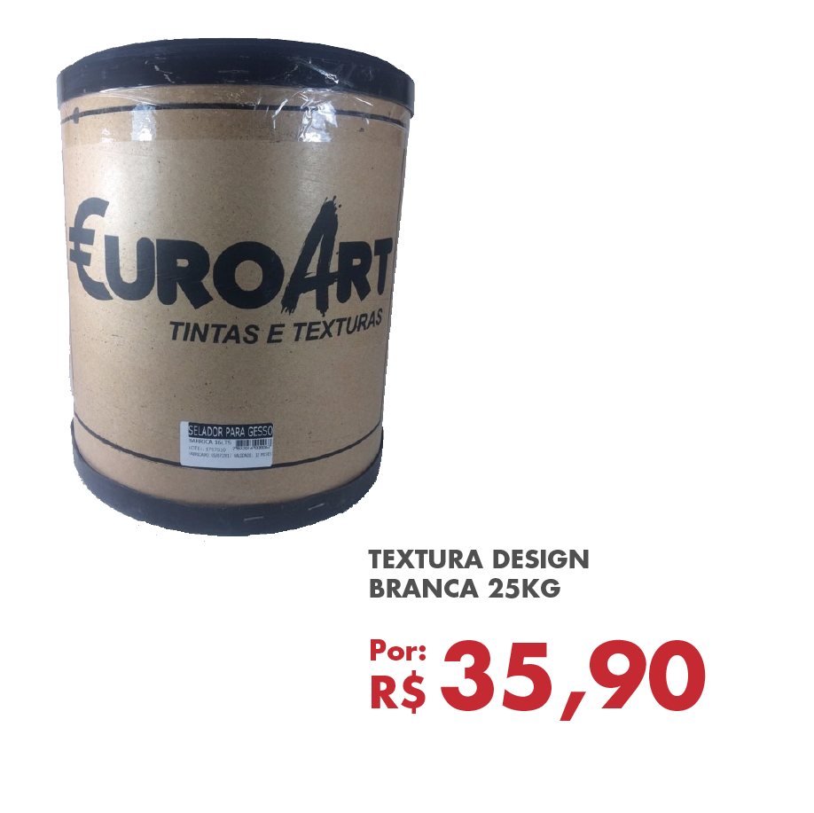 TEXTURA DESIGN BRANCA 25KG