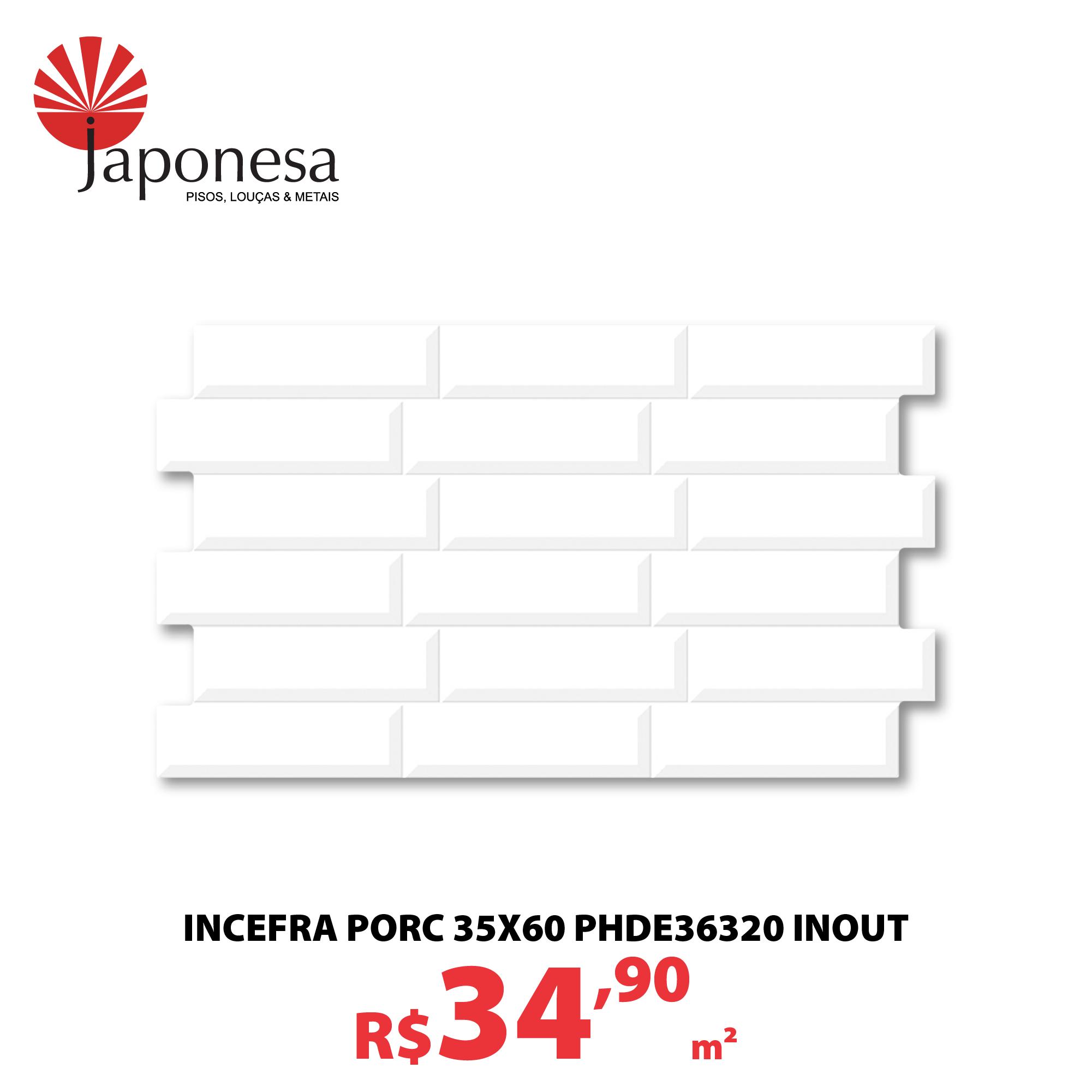 INCEFRA PORC 35X60 PHDE36320 INOUT