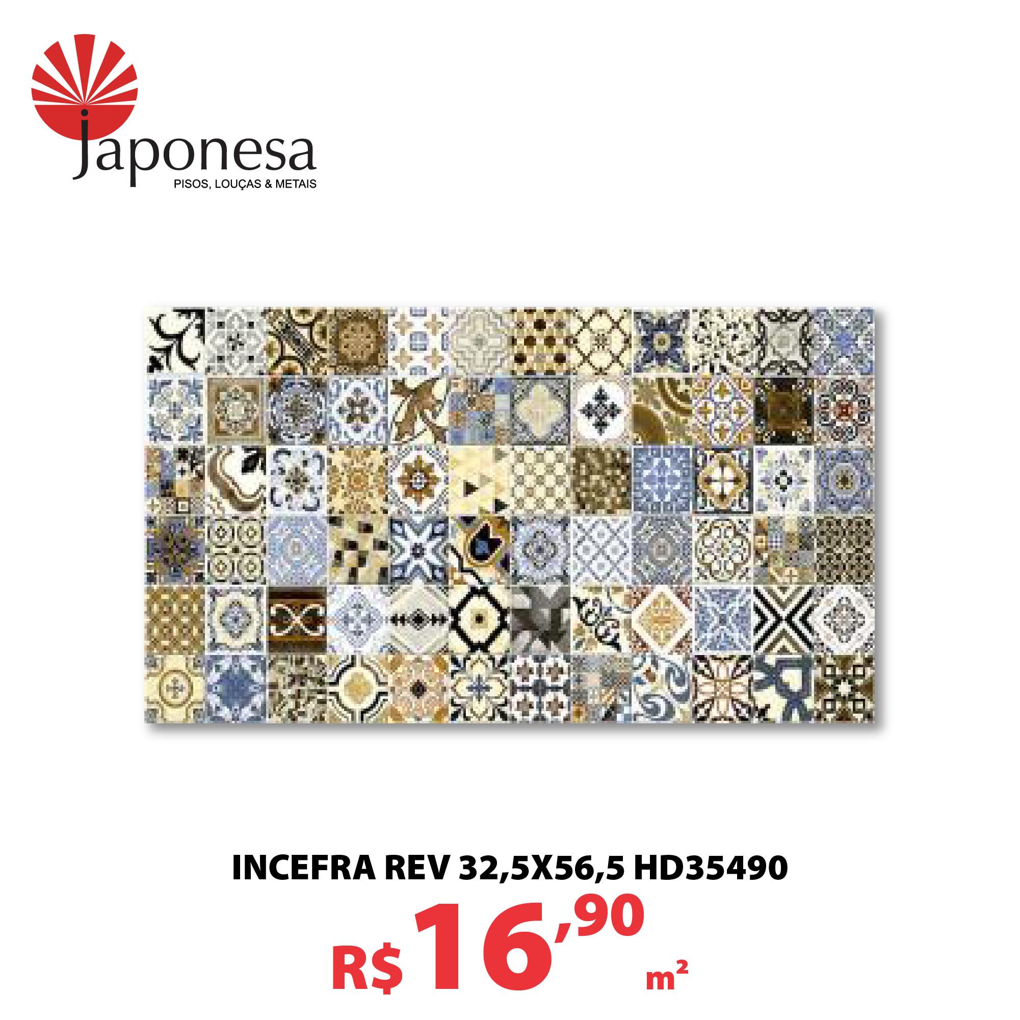 INCEFRA REV 32,5X56,5 HD35490