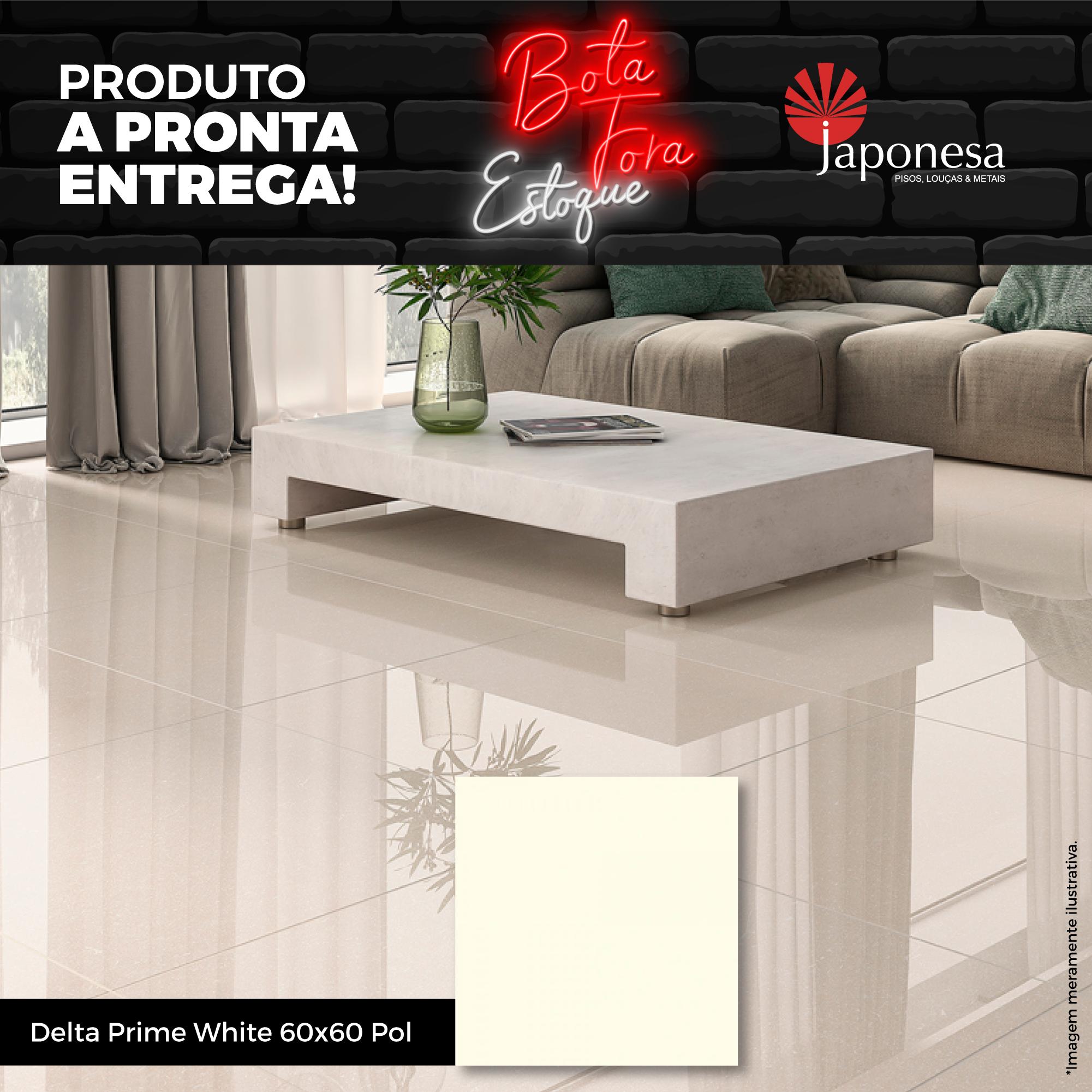 DELTA PRIME WHITE 60X60 POL