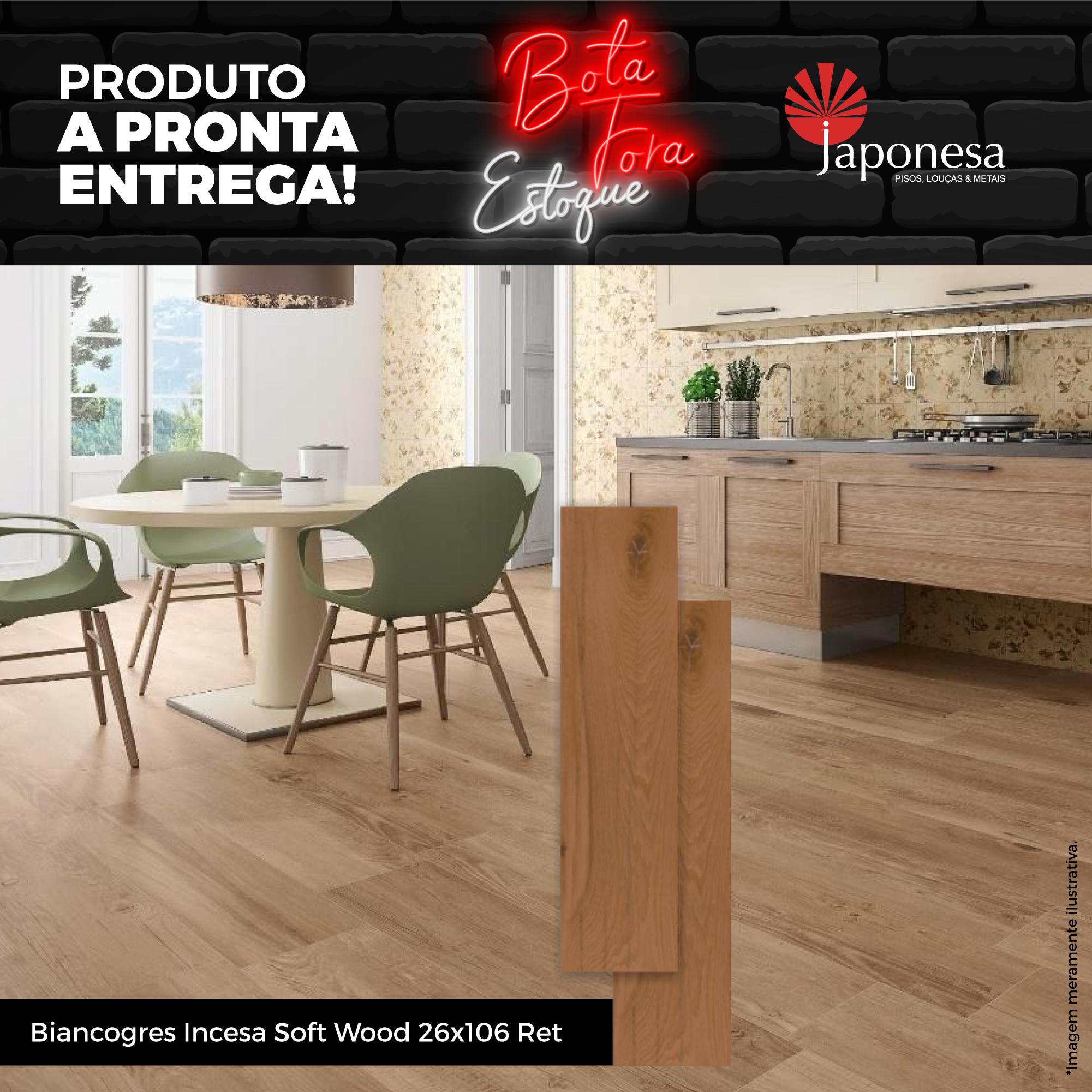 BIANCOGRES INCESA SOFT WOOD 26X106 RET