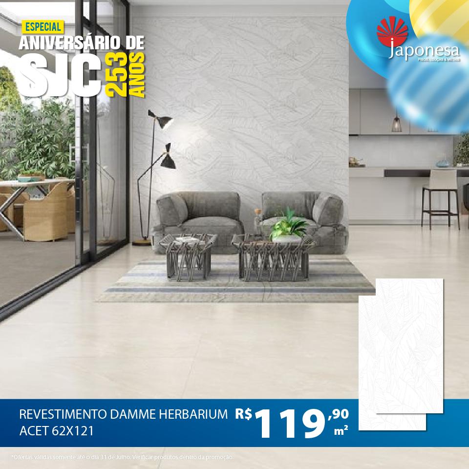 REVESTIMENTO DAMME HERBARIUM ACET 62X121